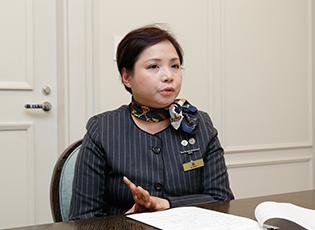 東京ステーションホテル チーフコンシェルジュ 森 マリーアントワネットさん