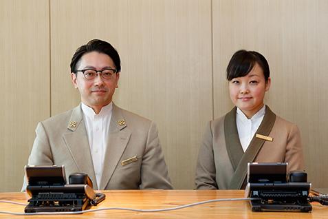 アマン東京 オザキ カレンさん(左)と阿部 沙苗さん(右)